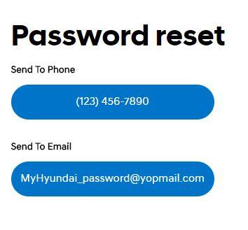 How To Reset Your MyHyundai Password
